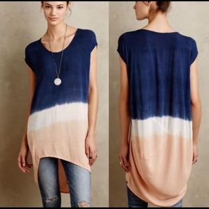 Maeve Dip Dyed Tunic Dress M